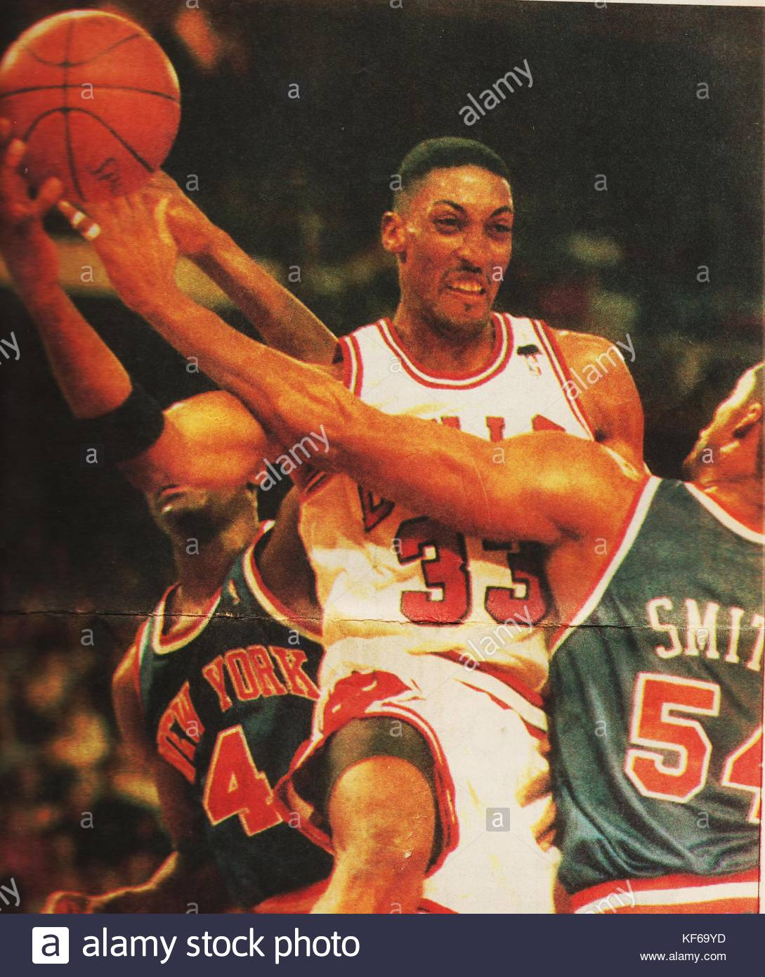 Scottie Pippen Stock s & Scottie Pippen Stock Alamy