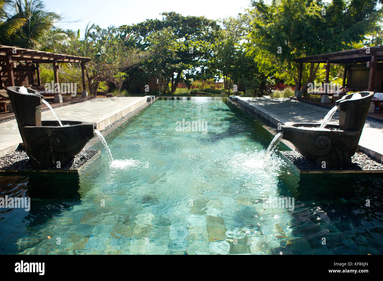 Mauritius Chemin Grenier South Coast One Of The Swimming Pools At