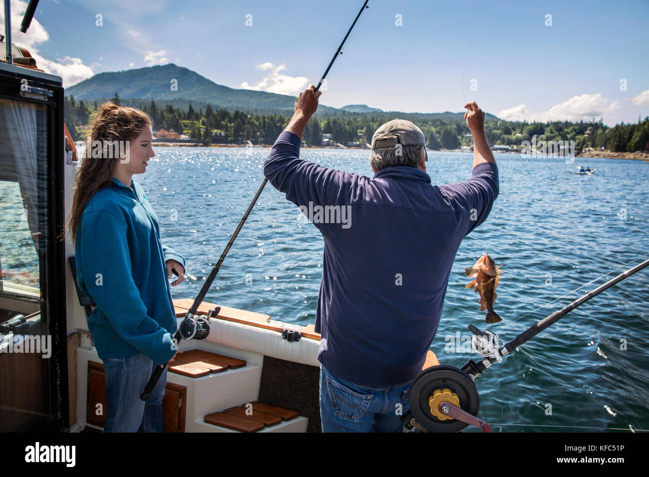 Recreational captain stock photos recreational captain for Captain tonys fishing