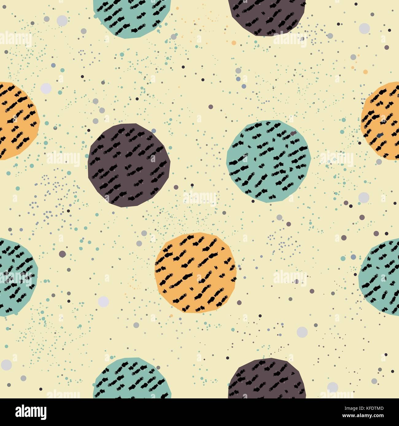 Cute Seamless Pattern. Hand Drawn Design. Great for wall art design ...
