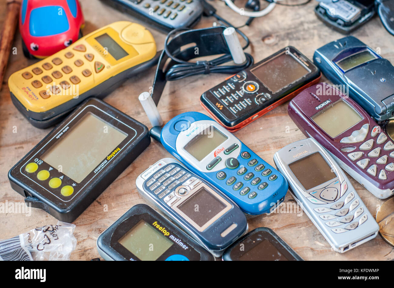 old cell phone vintage stock photos old cell phone. Black Bedroom Furniture Sets. Home Design Ideas
