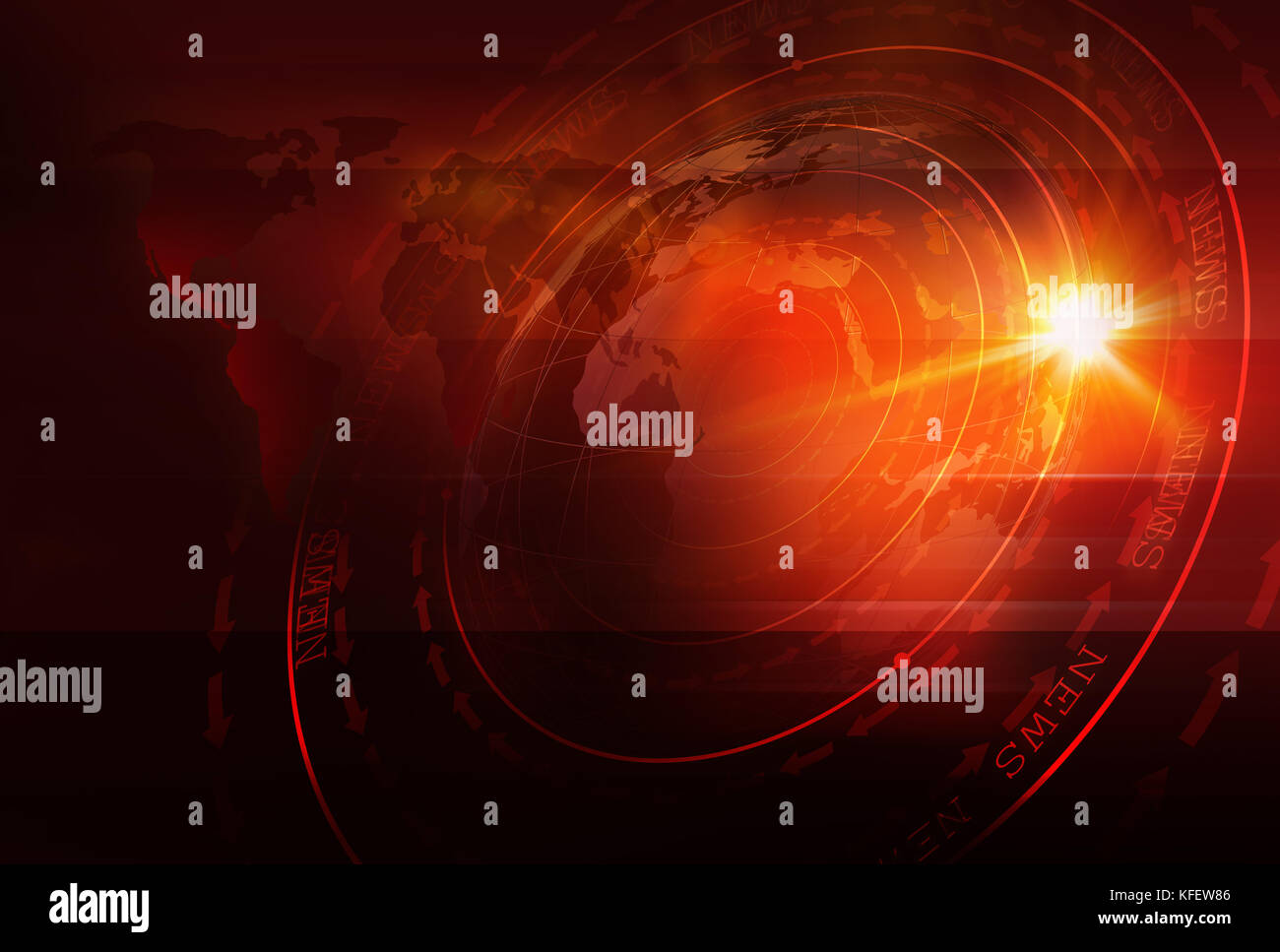 Graphical sport news background with world map and round circles graphical sport news background with world map and round circles with layers of stages text on ground 3d illustration 3d render gumiabroncs Image collections