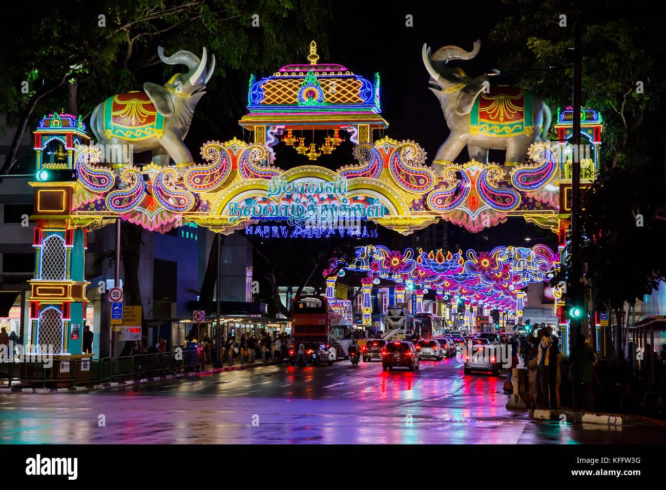 Deepavali Festival Singapore Stock Photos  for Deepavali 2017 Celebration  585eri