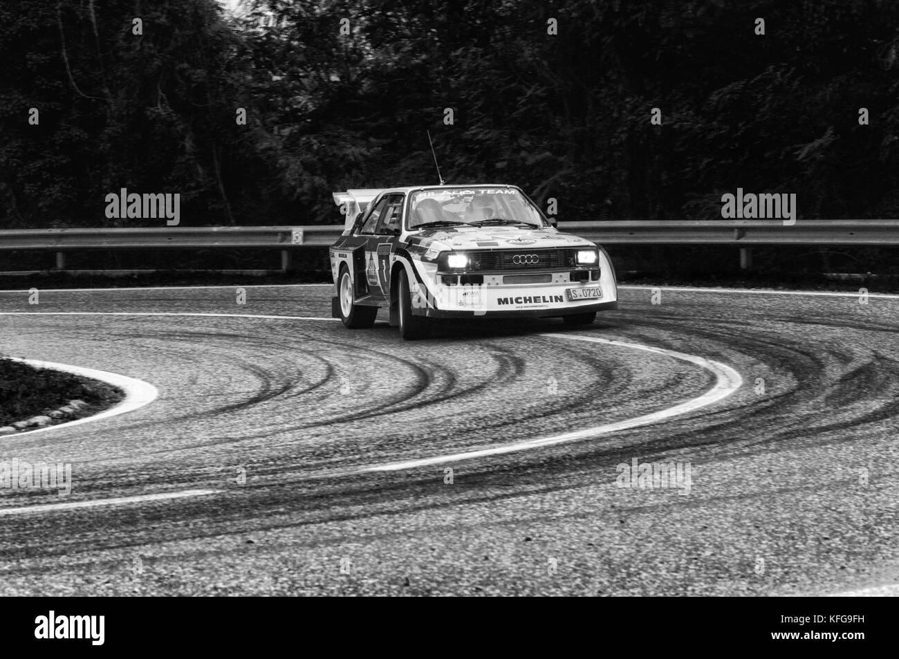 san marino, san marino - ott 21 : audi sport quattro s1 old racing