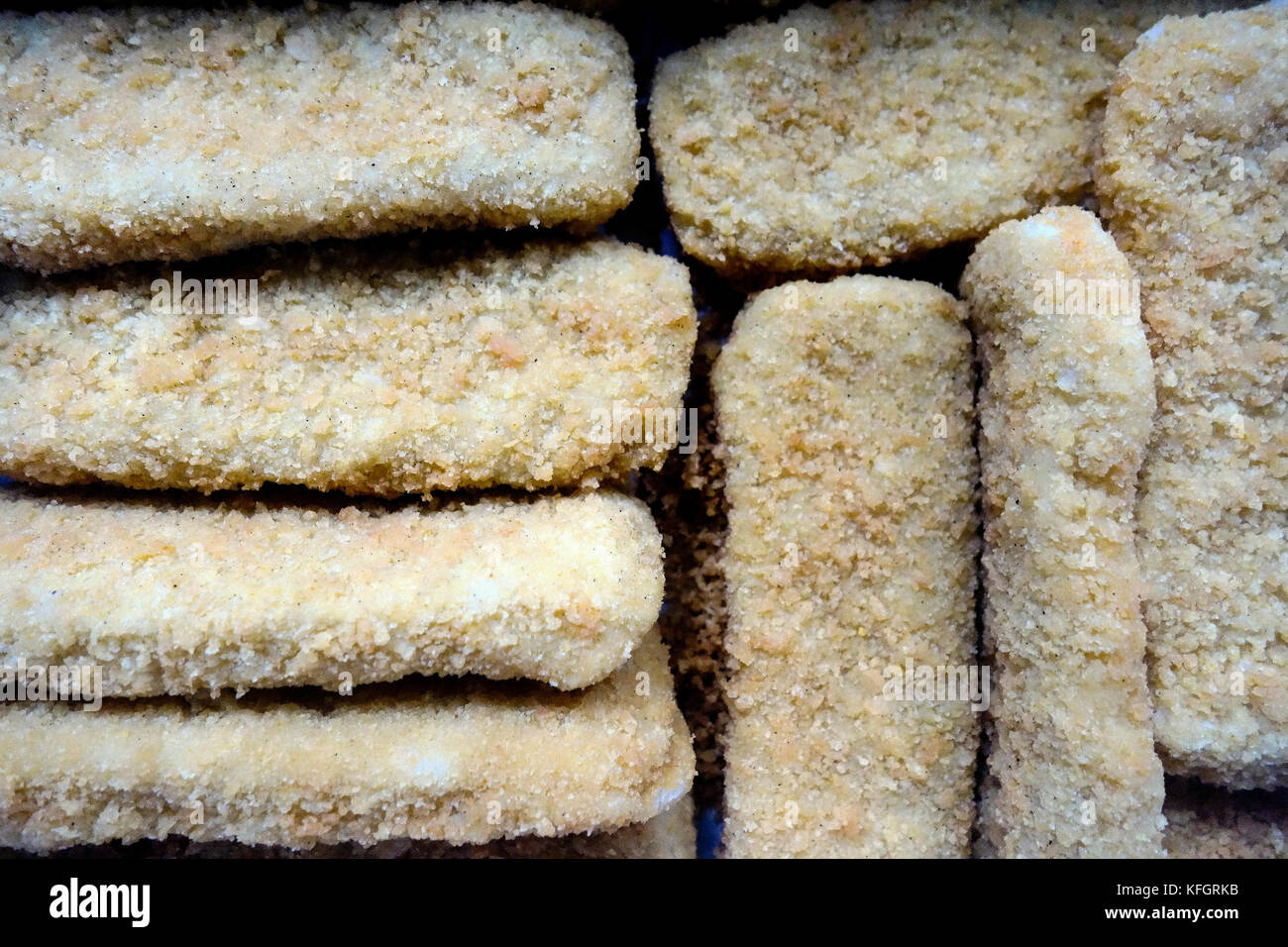 how to make frozen fish fingers