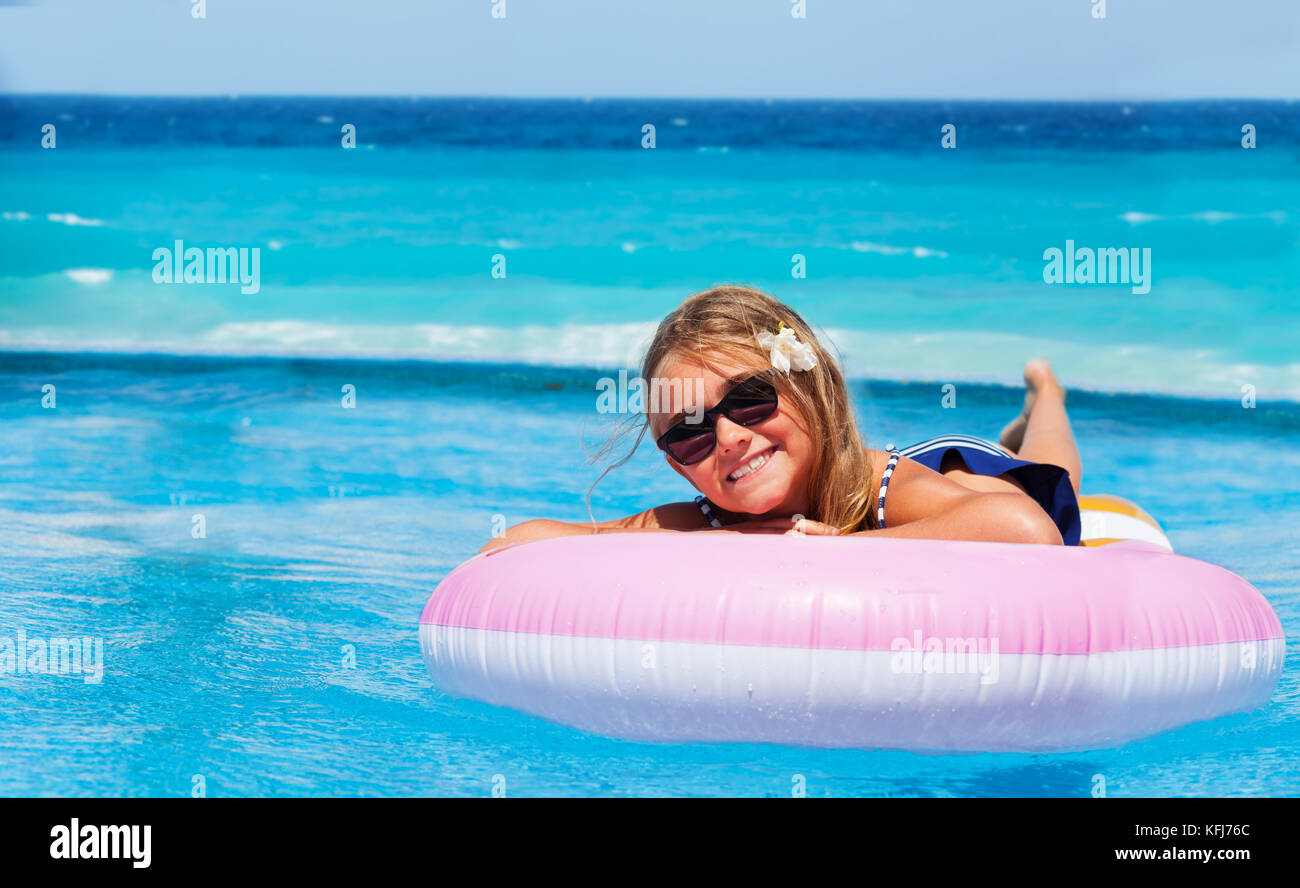 Preteen girl swimming pool stock photos preteen girl - Female only swimming pool melbourne ...