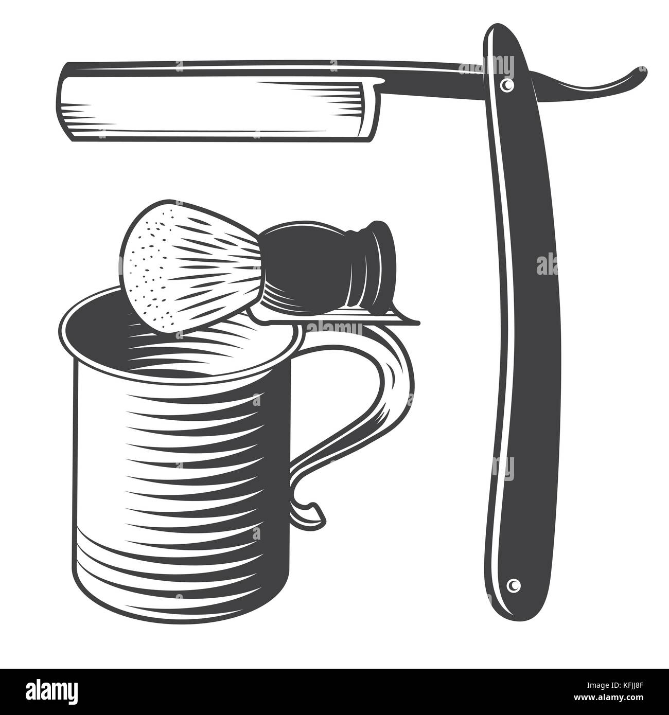 how to use a shaving mug and brush