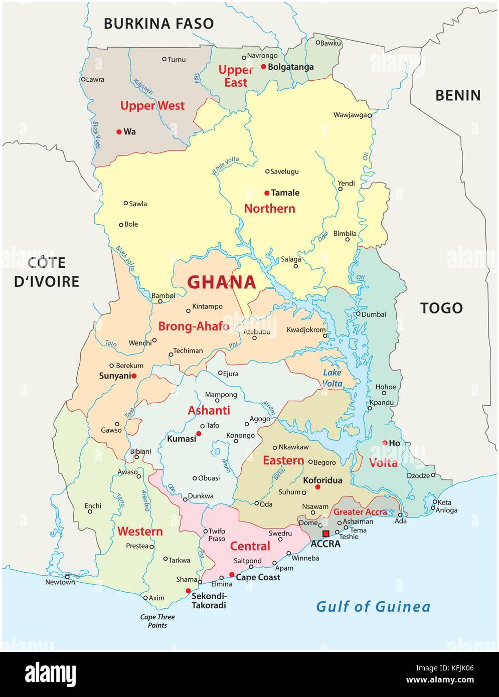 Map Of Benin Stock Photos Map Of Benin Stock Images Alamy