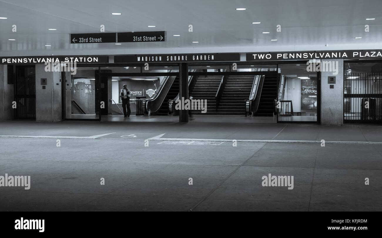 Penn Station New York Travel Train Stock Photos Penn Station New York Travel Train Stock