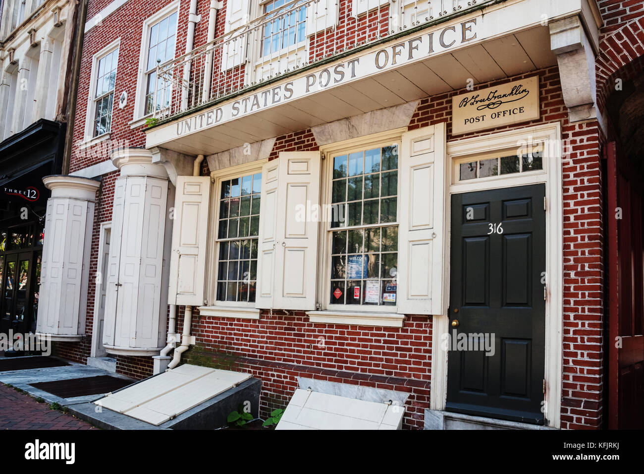 Elegant Franklin Post Office, Americau0027s First Public Postal Service, Philadelphia,  Pennsylvania, USA