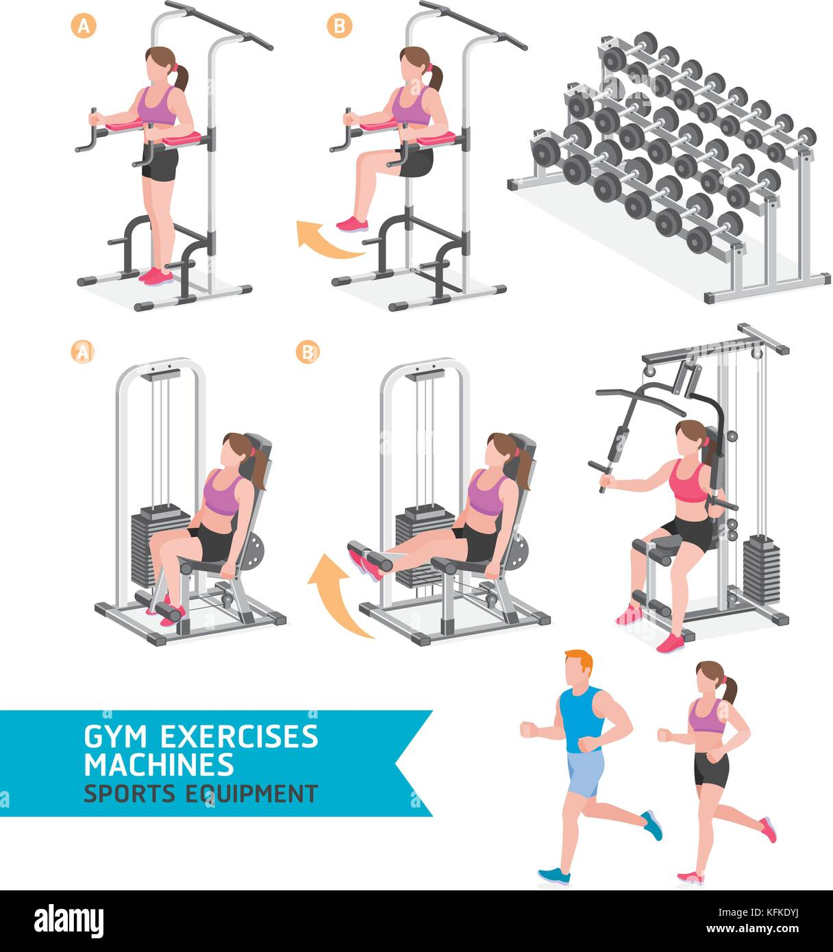 Isometric Exercises Equipment: Isometric Bike Stock Photos & Isometric Bike Stock Images