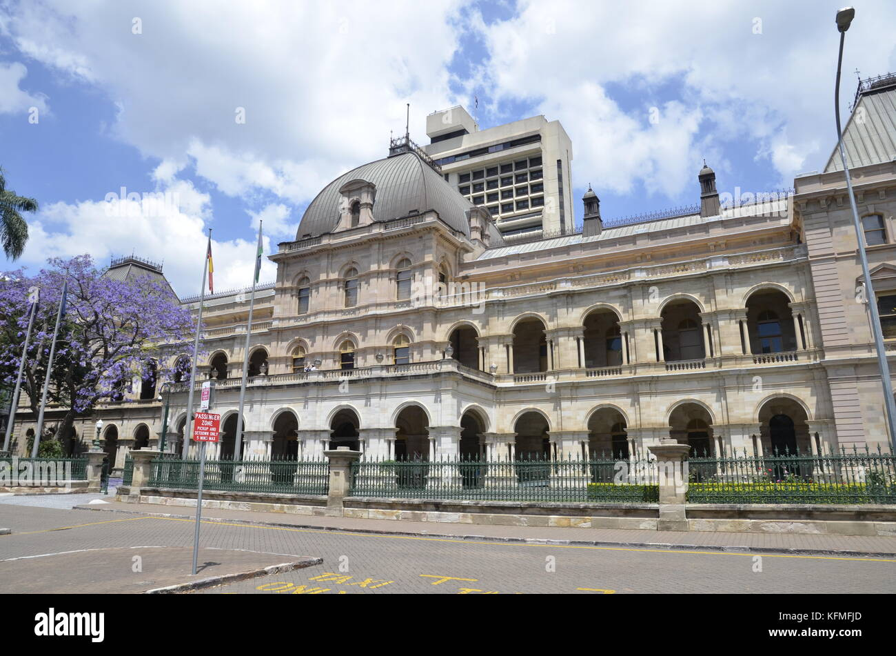Parliament House In Brisbane Queensland Australia The Meeting Place Of