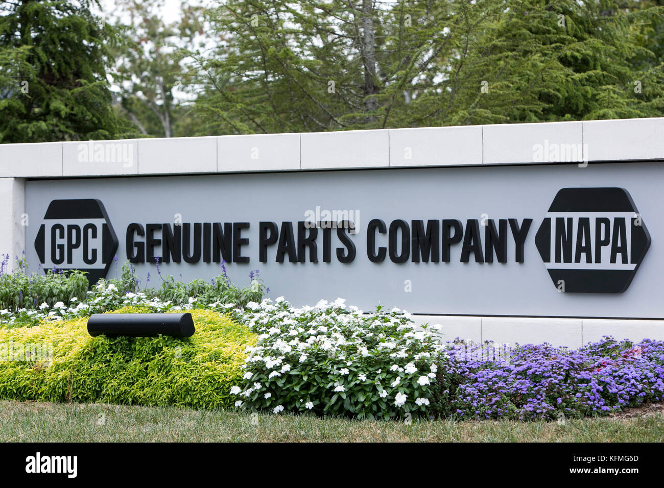 A Logo Sign Outside Of The Headquarters Of The Genuine Parts Company
