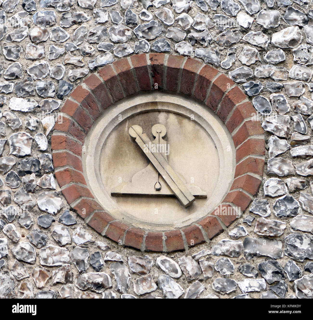 Masonic symbol stock photos masonic symbol stock images alamy a plumb rule and level masonic symbols carved on stone plagues in a flint wall biocorpaavc