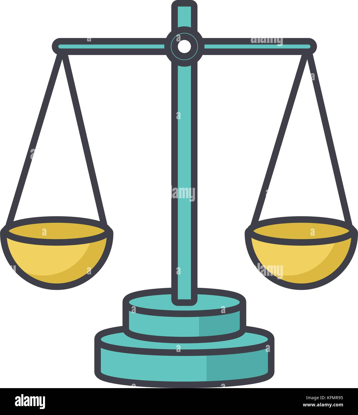 Justice balance symbol stock vector art illustration vector image justice balance symbol biocorpaavc Images