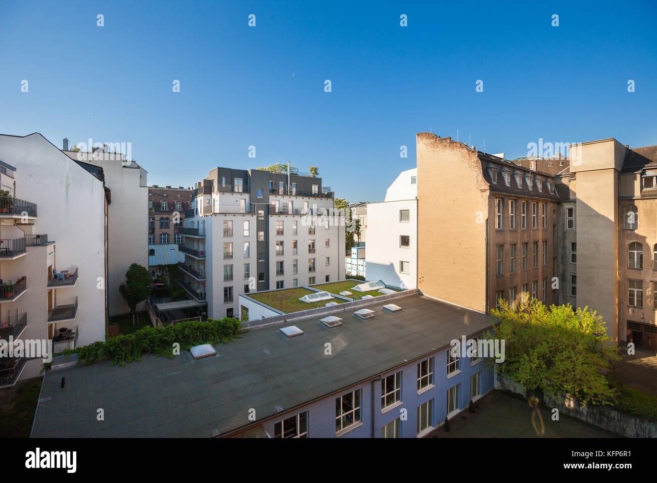 Housing estate in berlin in stock photos housing estate for Apartments near mercedes benz stadium