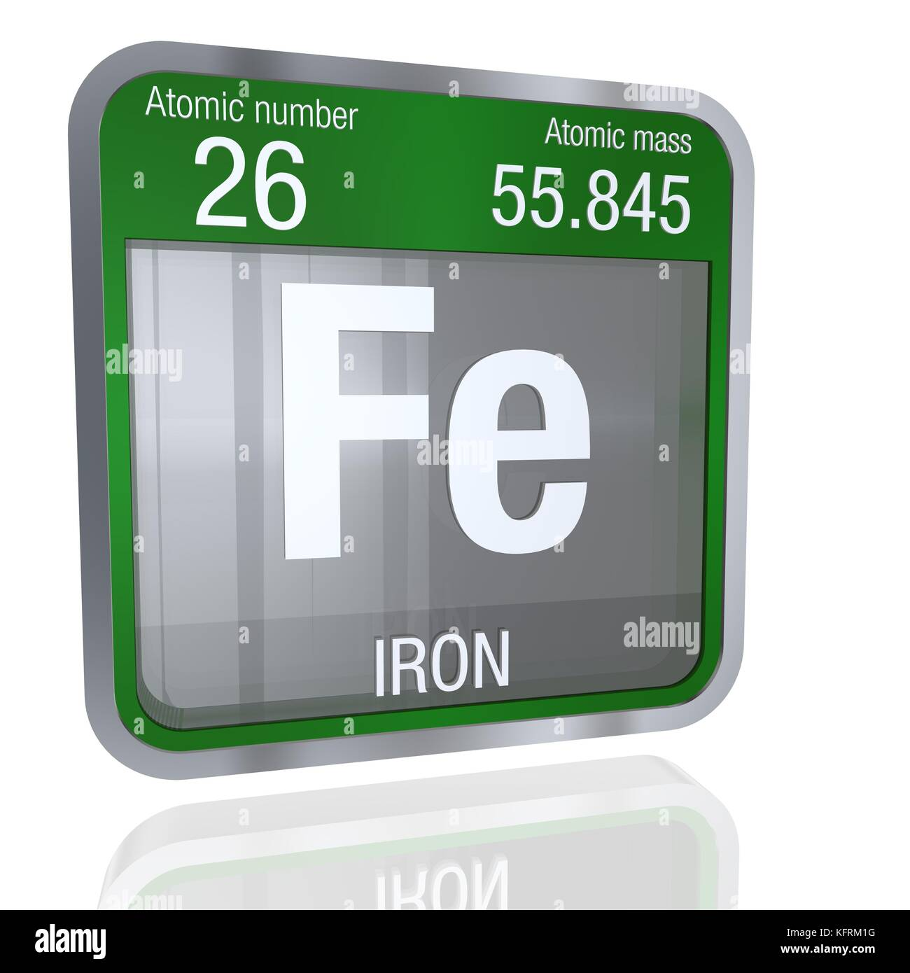 iron element number