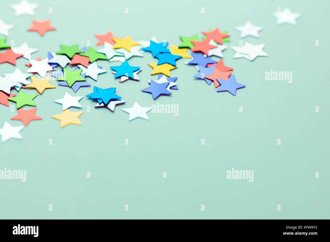 Asterisk symbol stock photos asterisk symbol stock images alamy colorful star confetti on neutral background with space for text stock image biocorpaavc Image collections