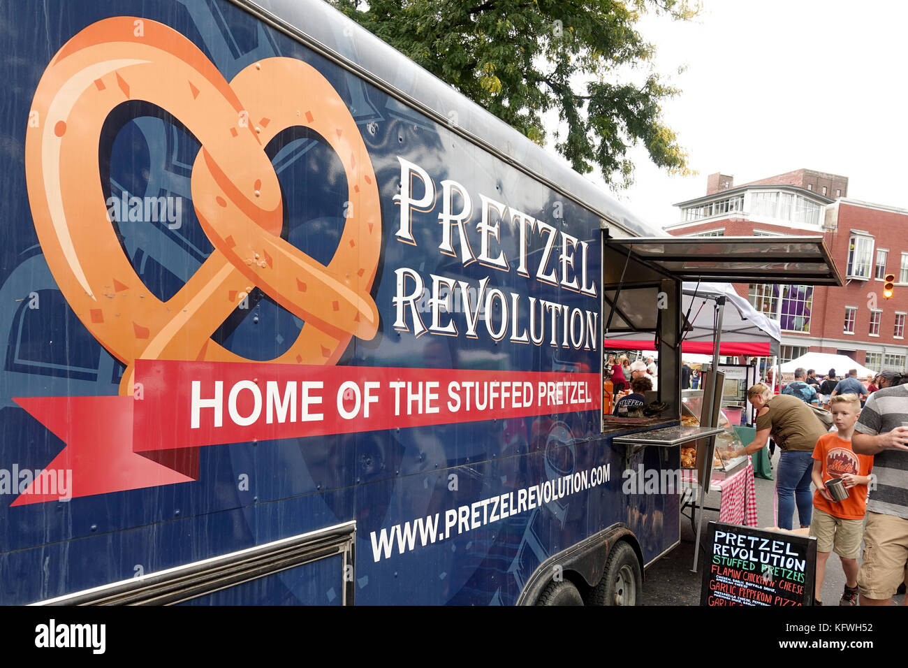 Pretzel Revolution Food Truck