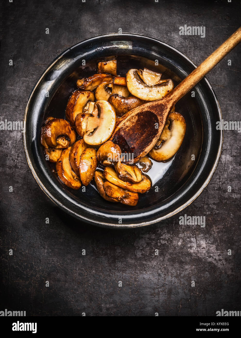 How to fry champignons 94