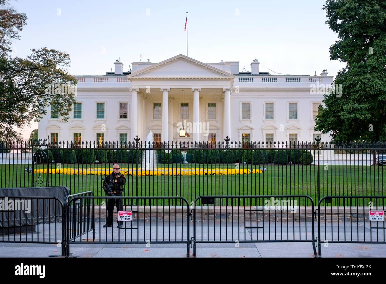 White House Washington Dc Exterior Stock Photos Amp White