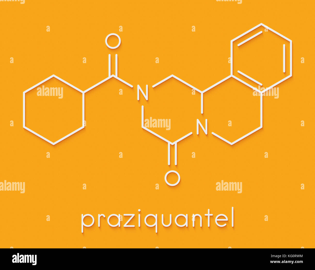 Tapeworm stock photos tapeworm stock images alamy praziquantel anthelmintic drug molecule used to treat tapeworm infections skeletal formula stock pooptronica