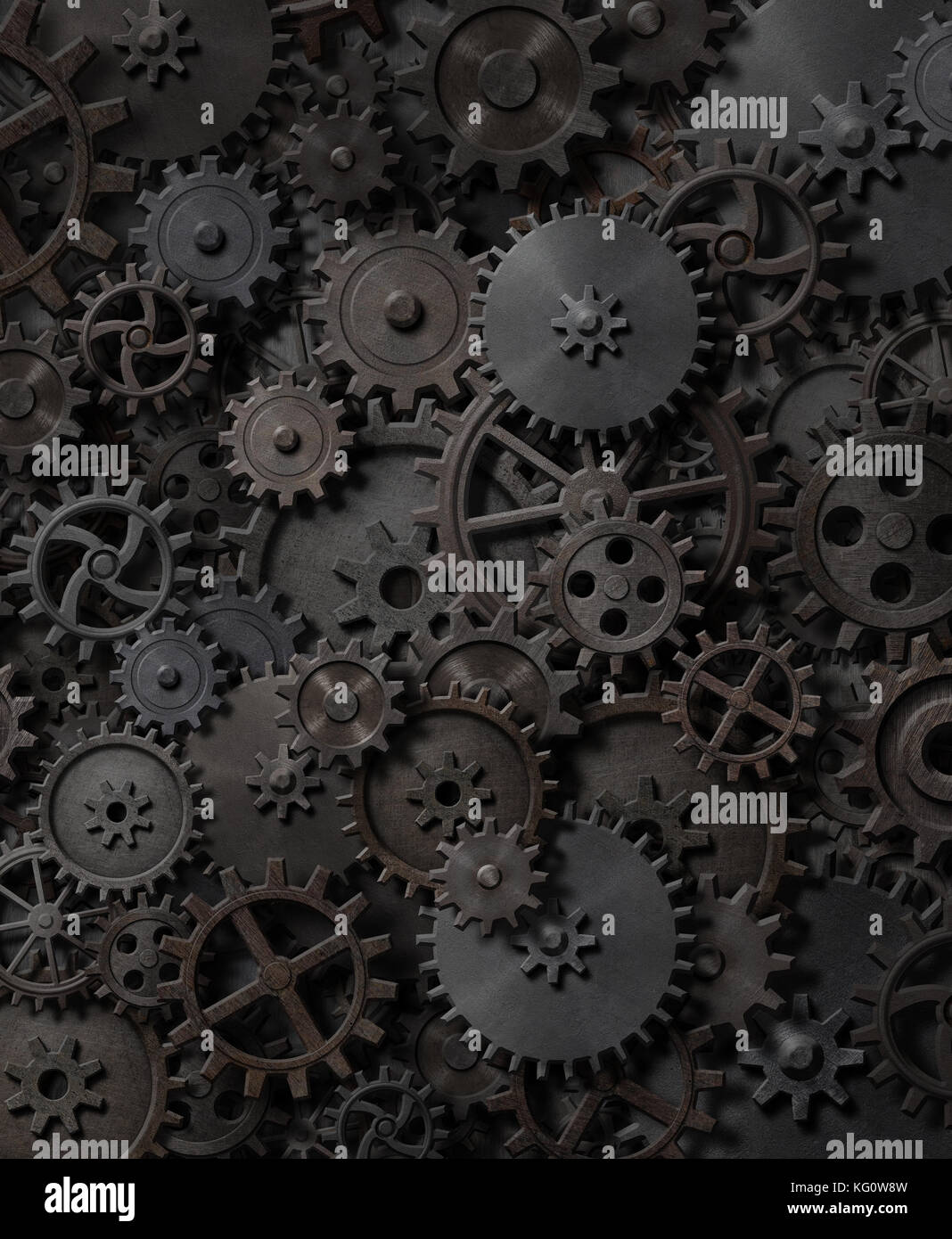 Gears and cogs steam punk background 3d illustration stock photo gears and cogs steam punk background 3d illustration malvernweather Images