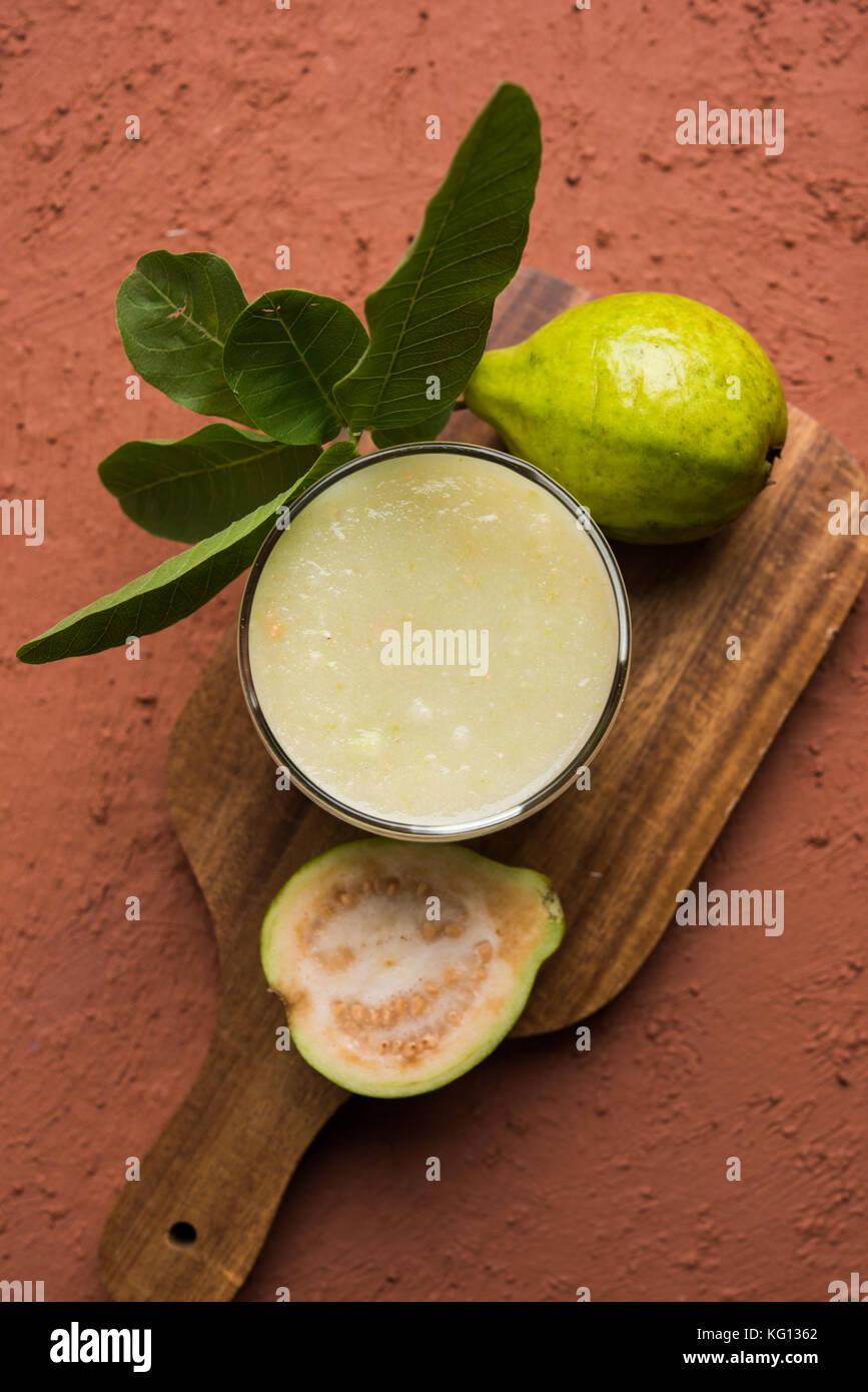 how to eat fresh guava fruit