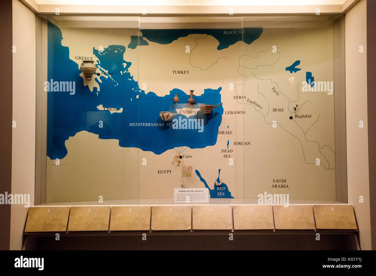 Map ancient egypt stock photos map ancient egypt stock images map of the ancient world university of pennsylvania museum of archaeology and anthropology philadelphia gumiabroncs Gallery