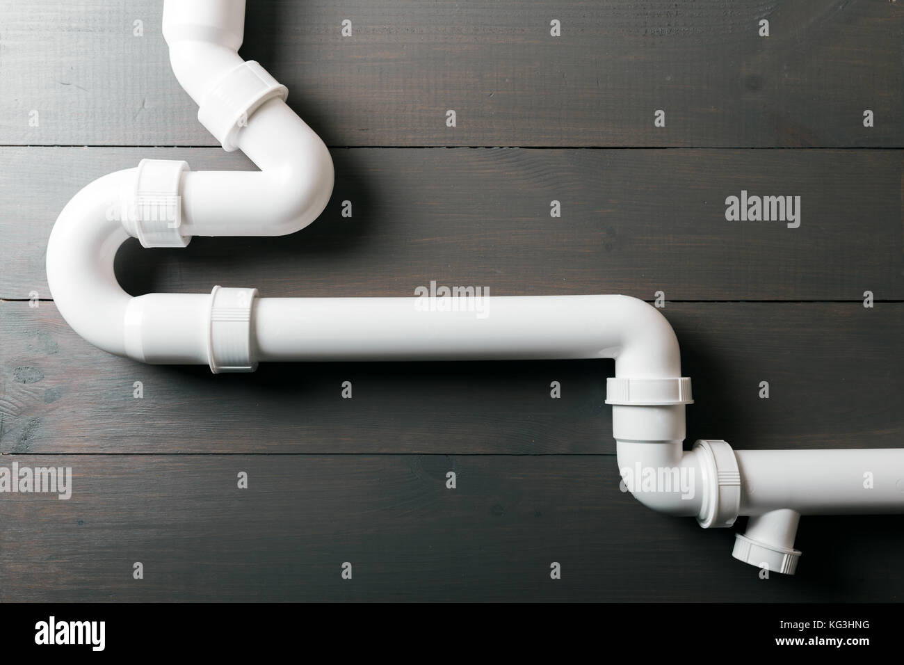 Wooden water pipe stock photos wooden water pipe stock for White plastic water pipe