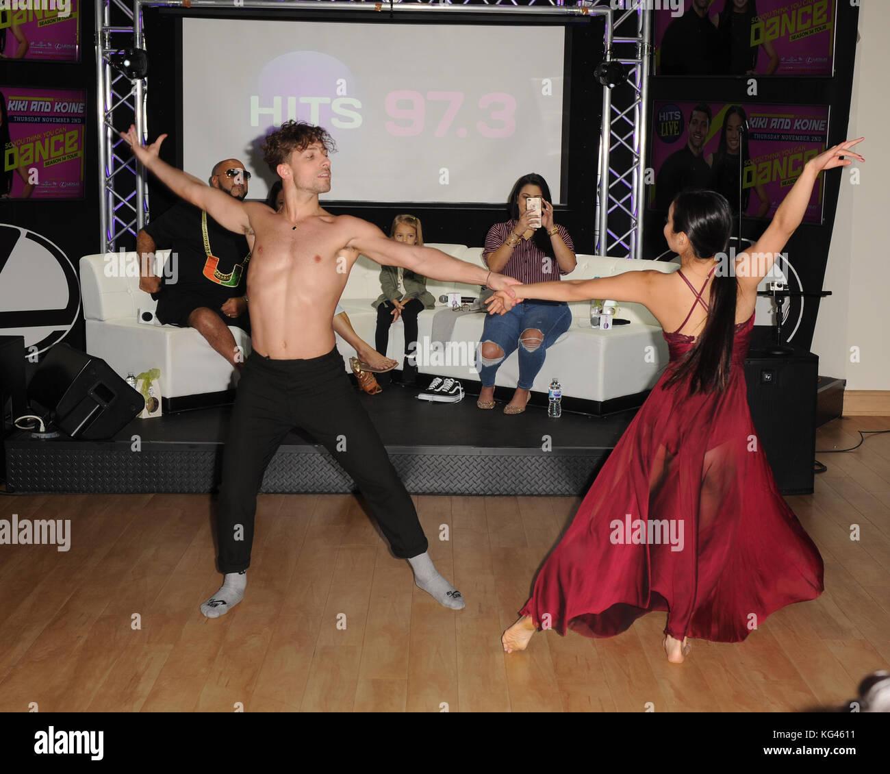 Hollywood, FL, USA. 02nd Nov, 2017. Kiki Nyemchek and Koine Iwasaki ...