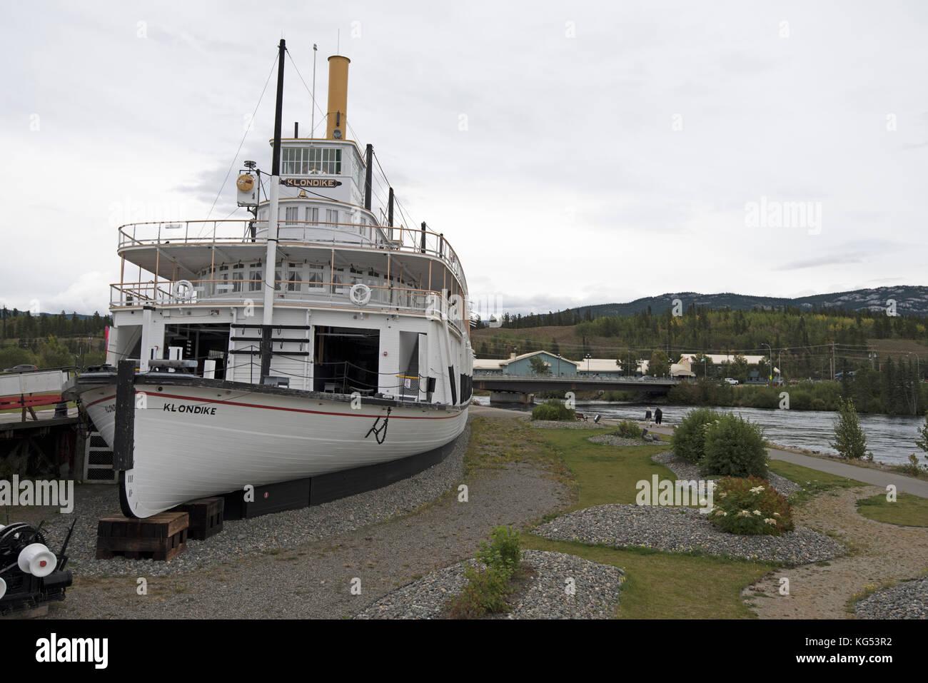 yukon river steamboats