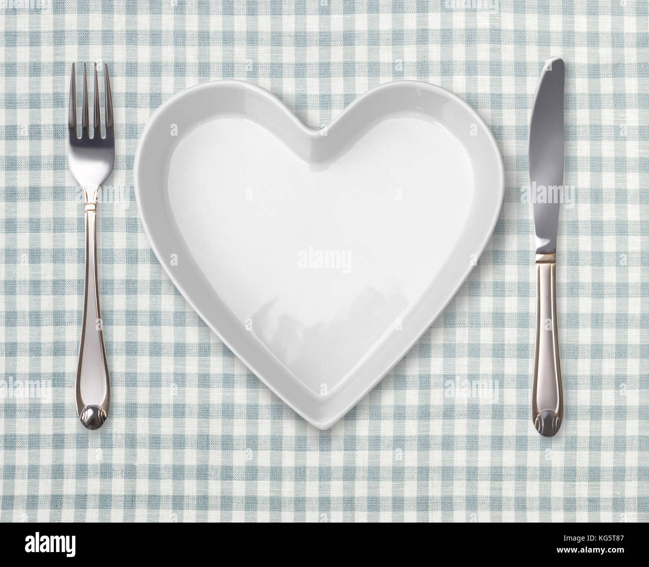 table appointments with heart shaped plate template with empty