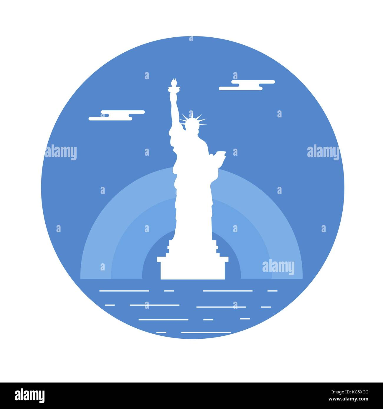 Statue of liberty sun and clouds new york landmark american statue of liberty sun and clouds new york landmark american symbols buycottarizona Image collections