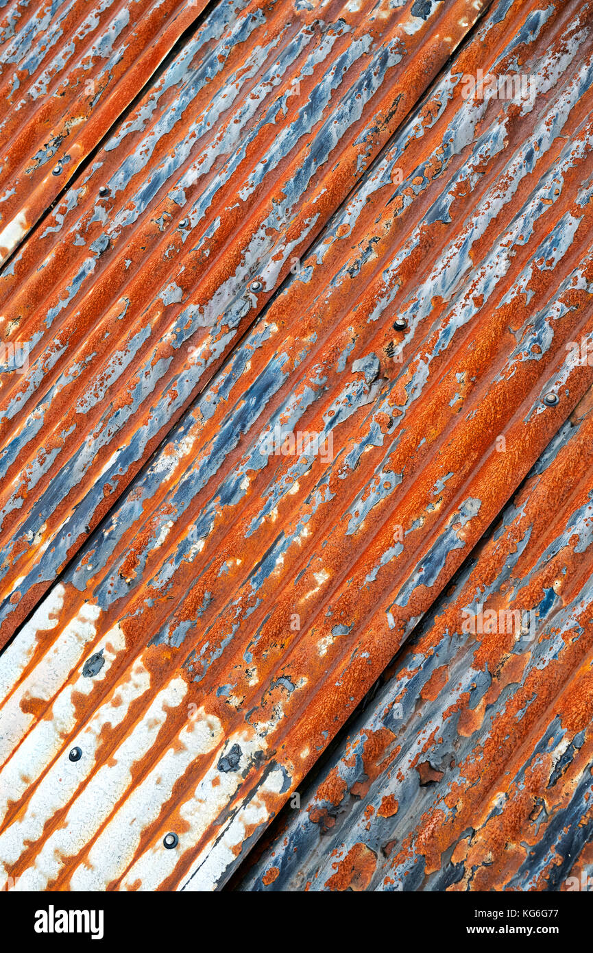 Rusty Corrugated Tin Roof Stock Photos Amp Rusty Corrugated