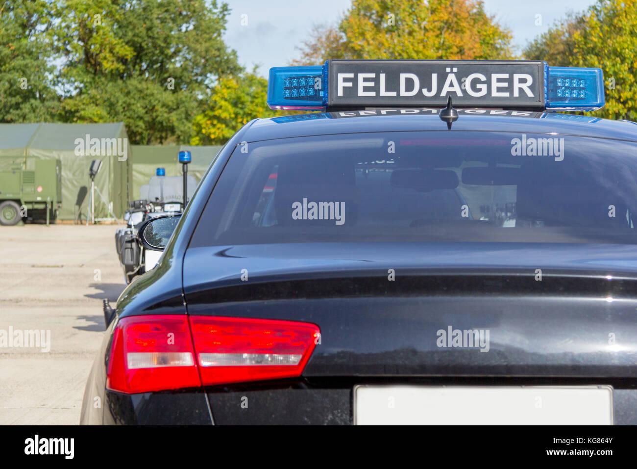 Blue light bar from a civil feldjaeger military police car stock blue light bar from a civil feldjaeger military police car mozeypictures Image collections