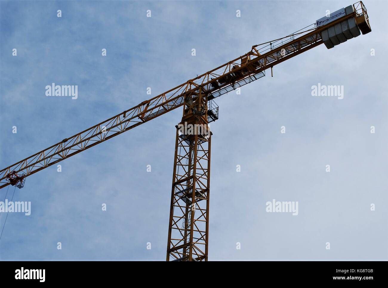 Overhead Crane Newfoundland : Hammerhead tower crane stock photos
