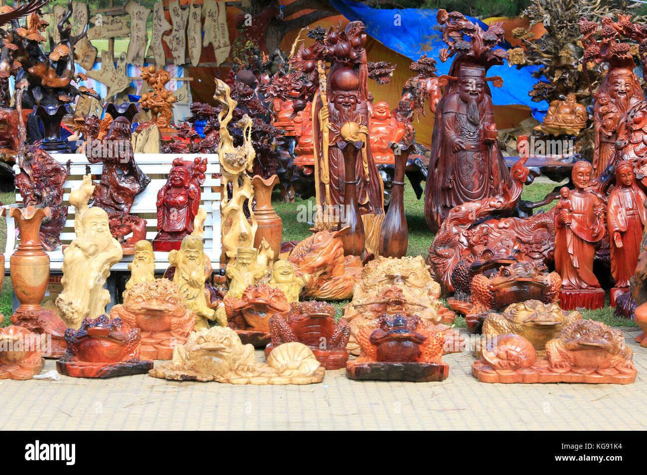 Woodcraft thailand stock photos