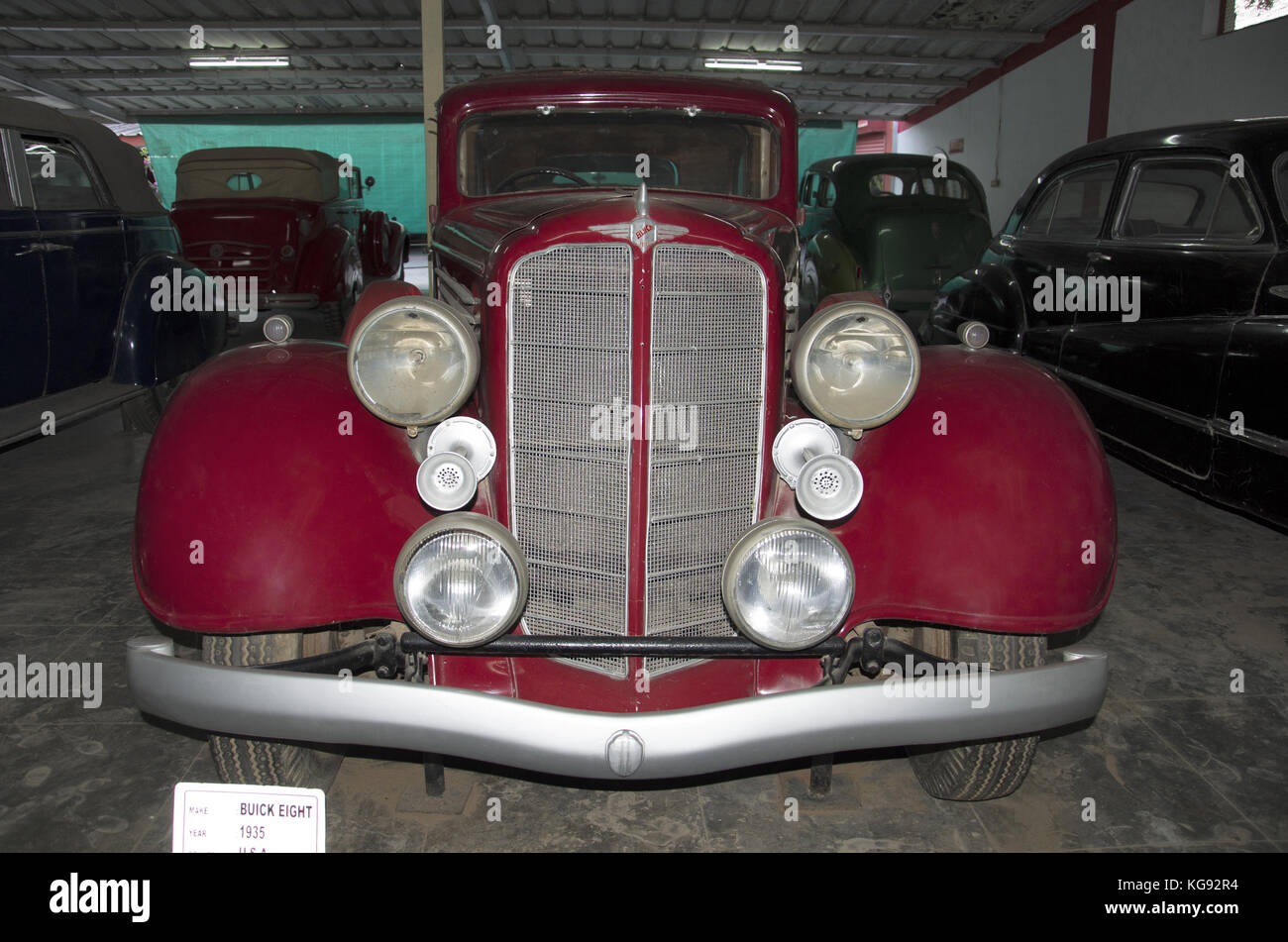 Buick Eight (Year 1935), USA. Auto world vintage car museum Stock ...