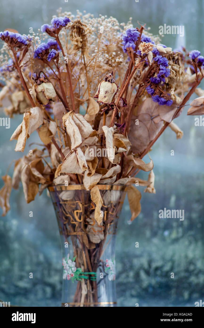 Bouquet Of Dead Flowers Stock Photo 164949189 Alamy
