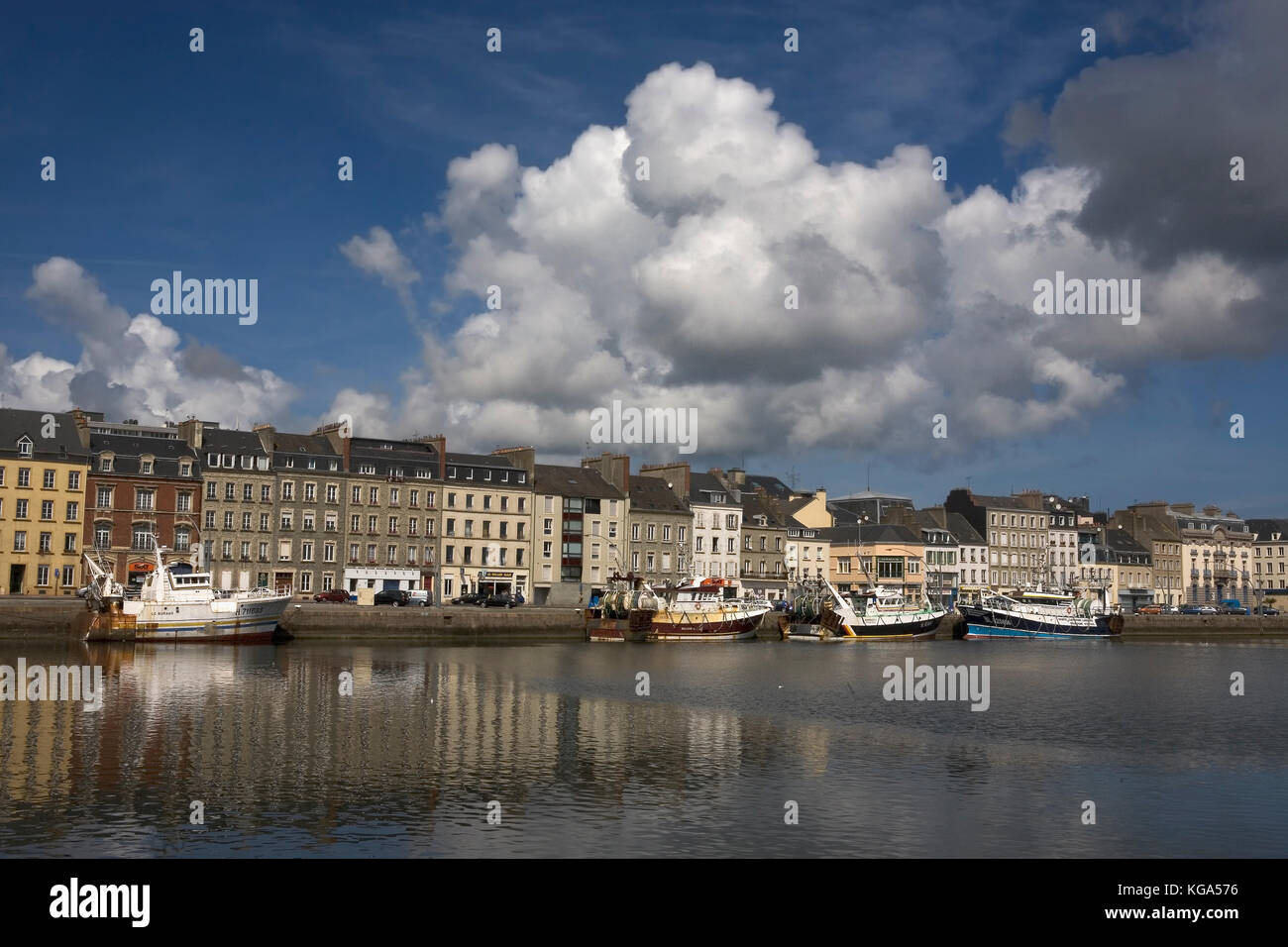 Cherbourg france port stock photos cherbourg france port stock images alamy - Chambre du commerce cherbourg ...