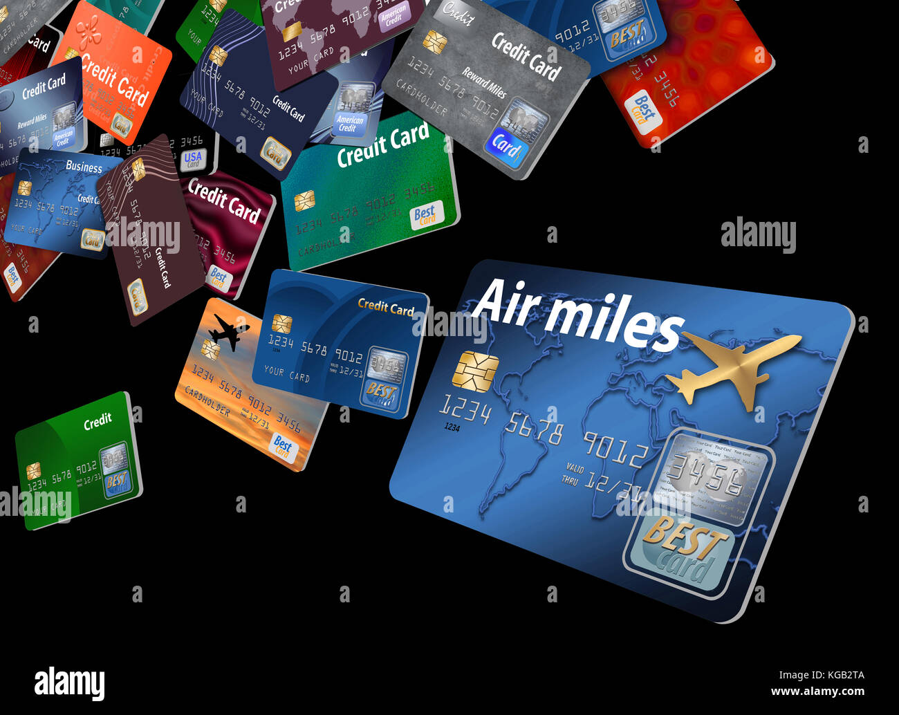 Business air miles credit card images free business cards cards flying stock photos cards flying stock images alamy dozens of credit cards floating and flying magicingreecefo Gallery