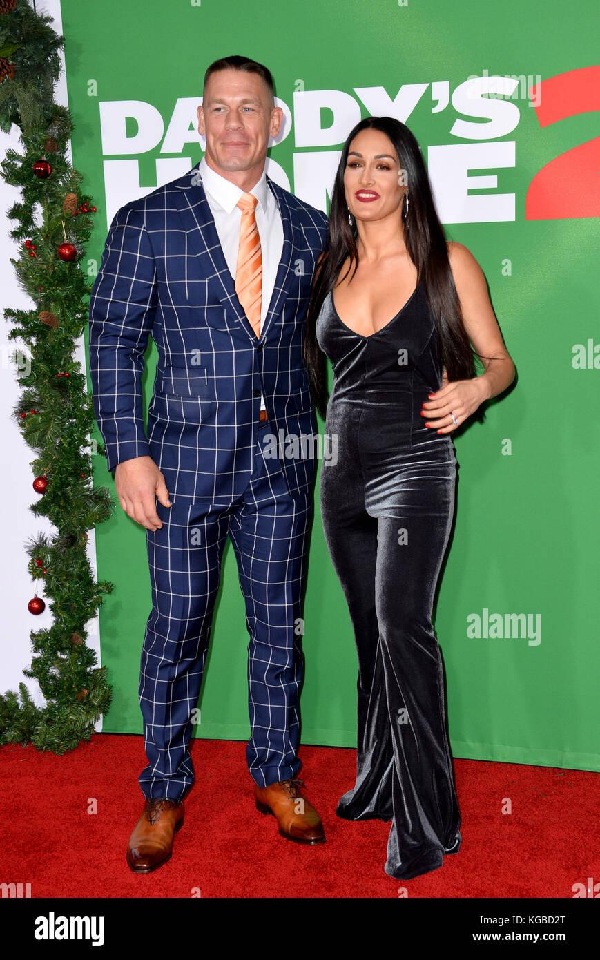 Los Angeles, USA. 05th Nov, 2017. John Cena & Nikki Bella at the ...