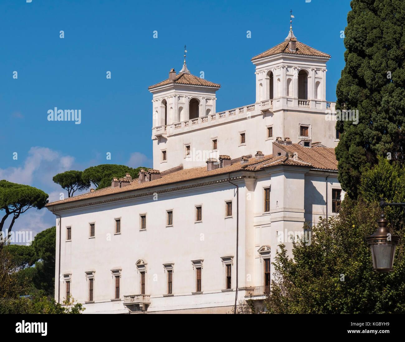 Villa medici rome stock photos villa medici rome stock images alamy - Villa medicis rome chambres ...