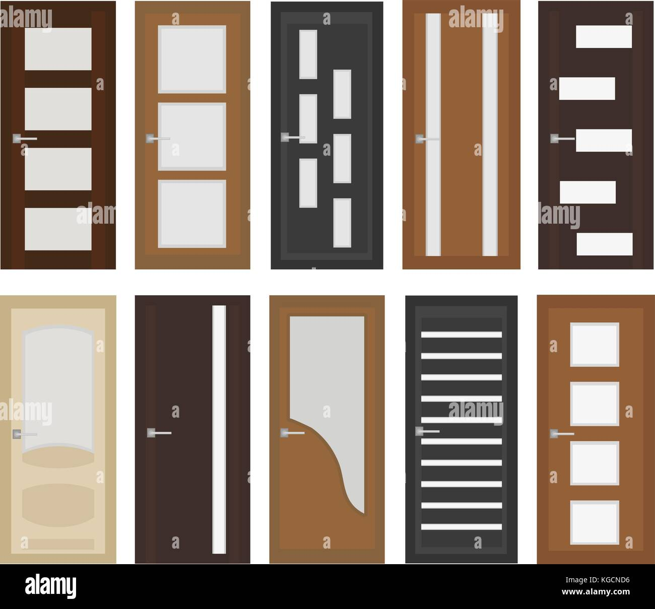 Different style exterior stock photos different style for Different types of interior doors