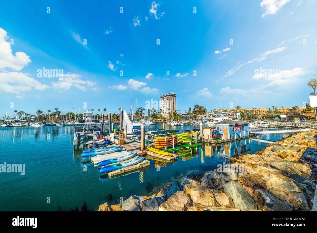 San Marina Pier Water Reflection Stock Photos Amp San Marina