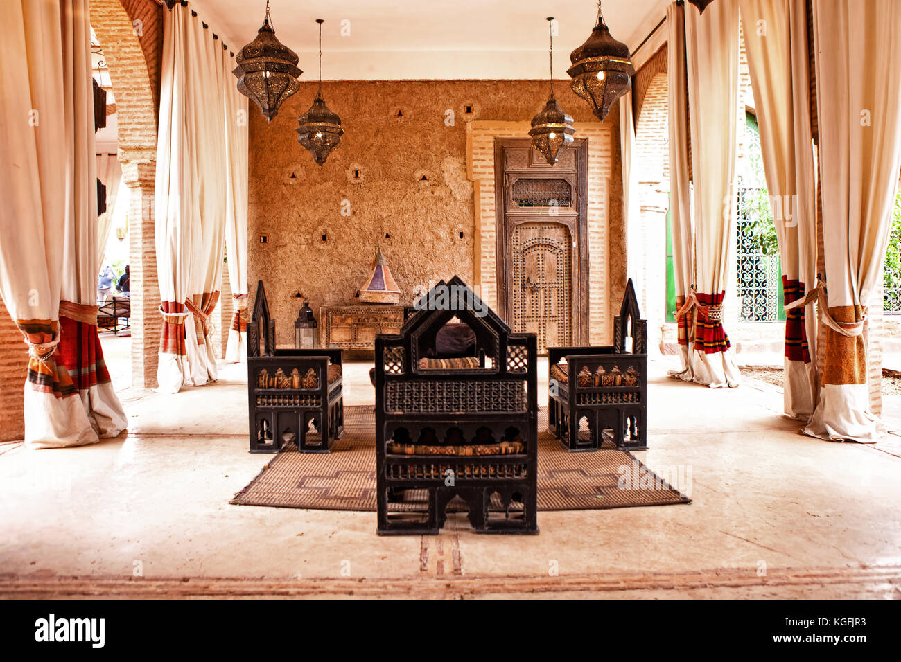 Moroccan Lounge Stock Photos Moroccan Lounge Stock Images Alamy