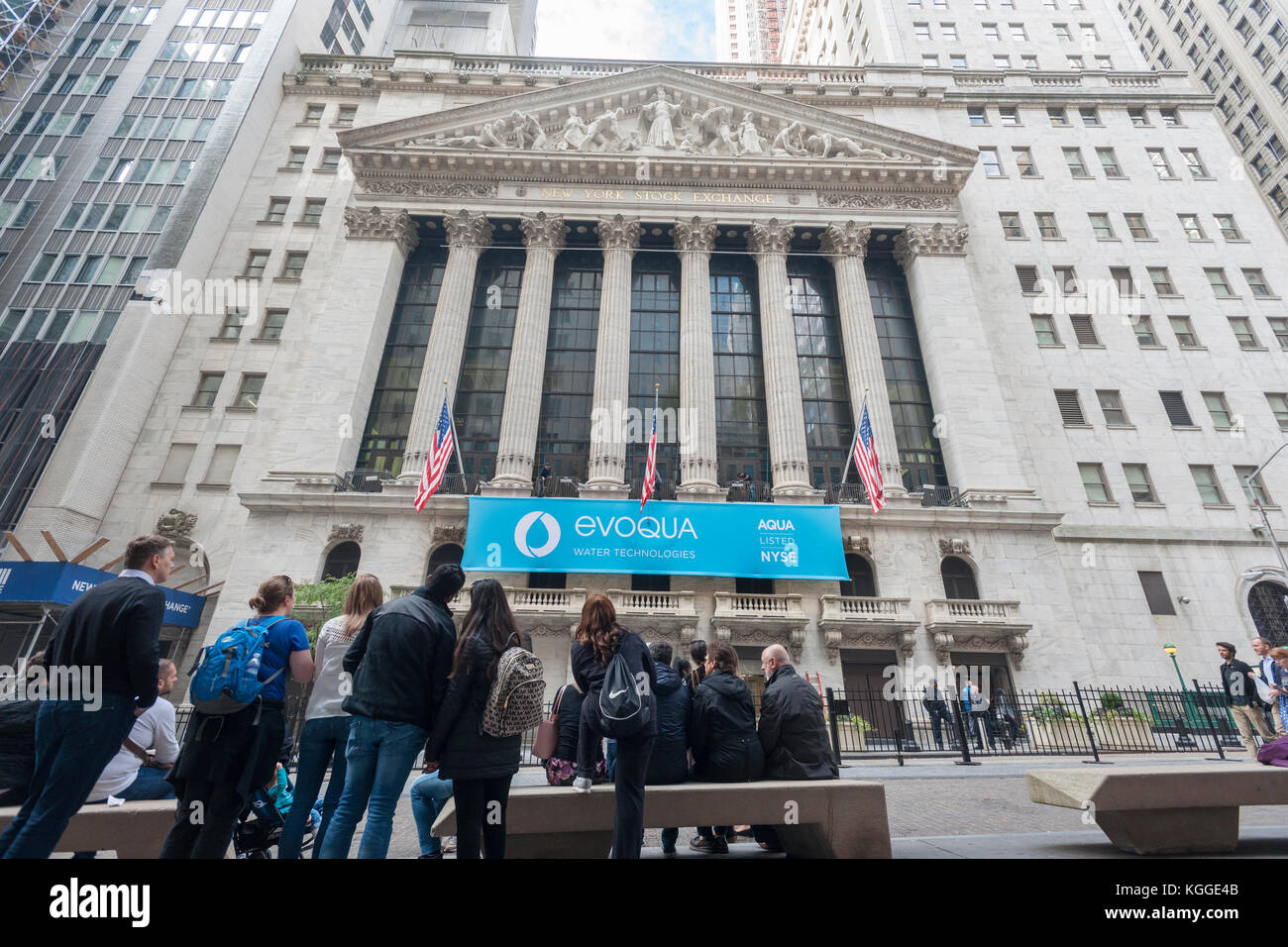 At the fitbit ipo celebration at new york stock exchange on thursday - The New York Stock Exchange In Lower Manhattan Is Decorated For The Initial Public Offering Of