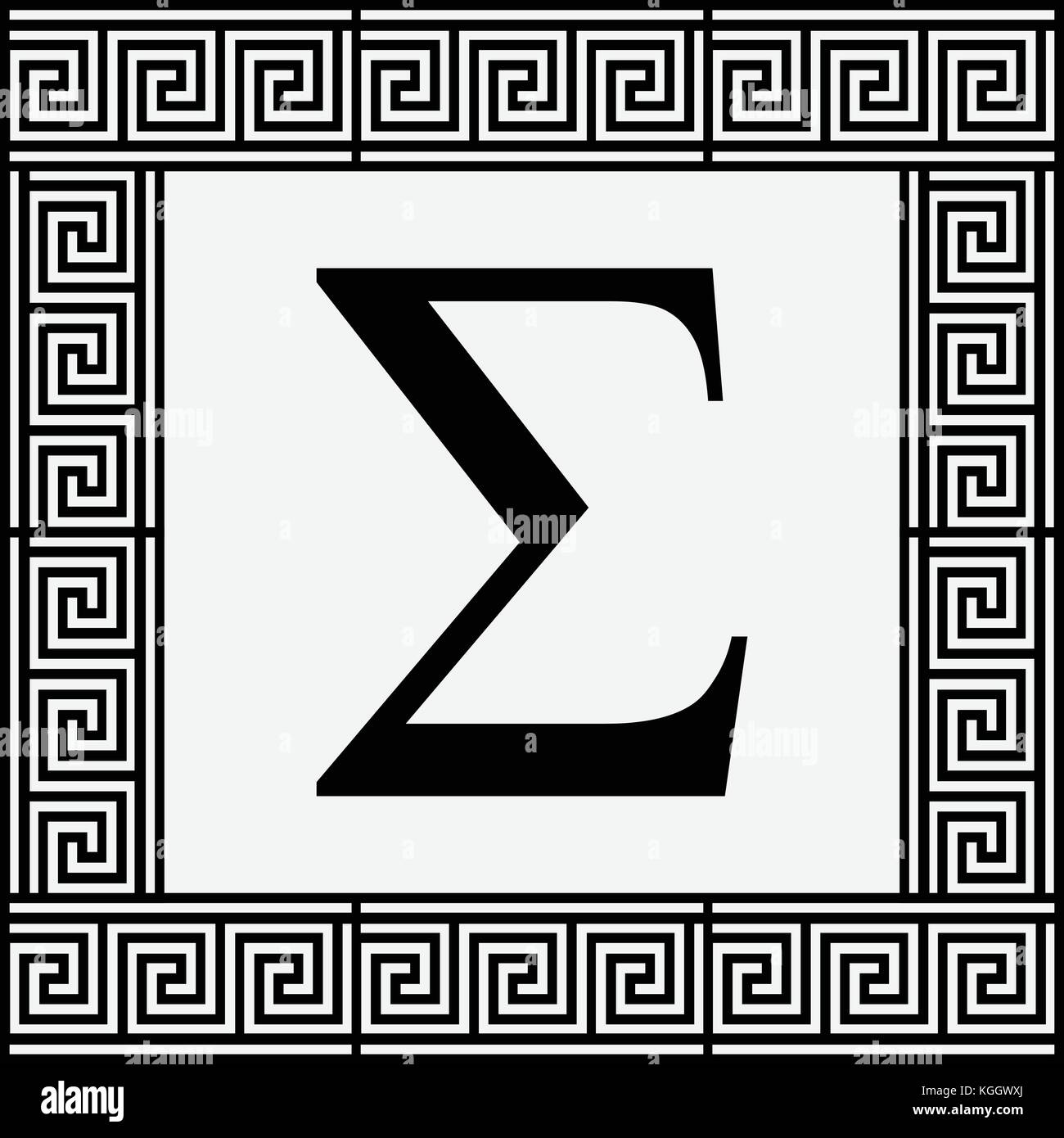 Greek letter sigma stock photos greek letter sigma stock images sigma greek letter icon sigma symbol in ancient greek frame vector illustration biocorpaavc Choice Image