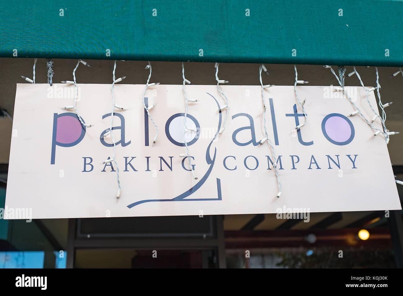 Palo alto california stock photos palo alto california stock sign for palo alto baking company an upscale bakery in silicon valley palo alto biocorpaavc